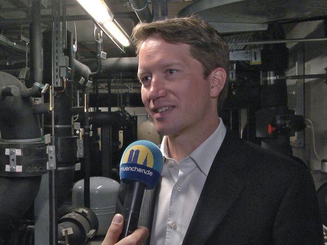 Dr. Florian Bieberbach, Vorsitzender der SWM Geschäftsführung, Foto: muenchen.de / Immanuel Rahman