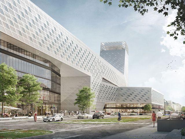 Neugestaltung des Hauptbahnhofs, Foto: Auer Weber Assoziierte