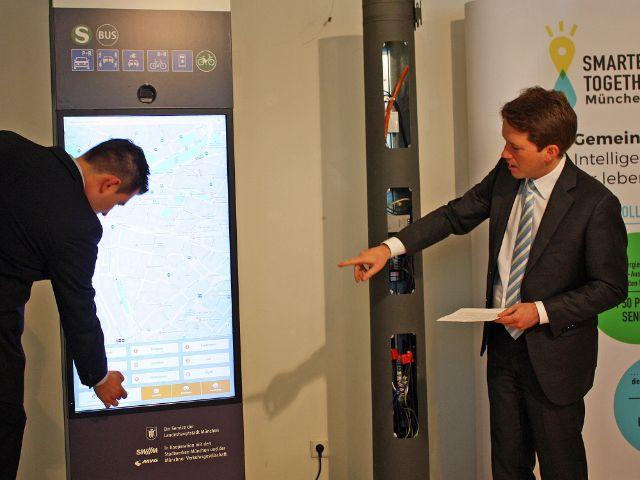 Vorstellung der Smart City-Innovationen 2018, Foto: muenchen.de/Leonie Liebich