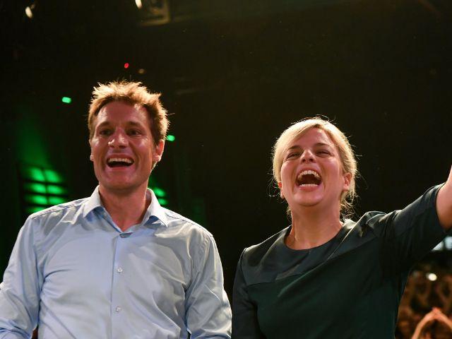 Ludwig Hartmann und Katharina Schulze, Foto: dpa/Sven Hoppe