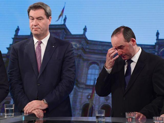 Markus Söder und Hubert Aiwanger, Foto: dpa/Peter Kneffel