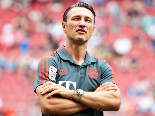Bayern-Trainer Niko Kovac, Foto: Johann Groder/Expa/apa/dpa