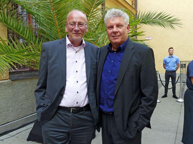 Kulturreferent Dr. Hans-Georg Küppers und Oberbürgermeister Dieter Reiter, Foto: muenchen.de/Leonie Liebich