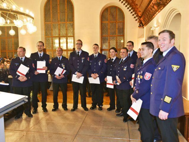Neujahresempfang der Münchner Feuerwehr, Foto: Feuerwehr München