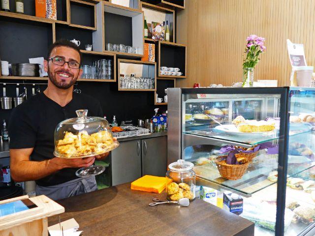 """Café """"Über den Tellerrand"""", Foto: muenchen.de/Leonie Liebich"""