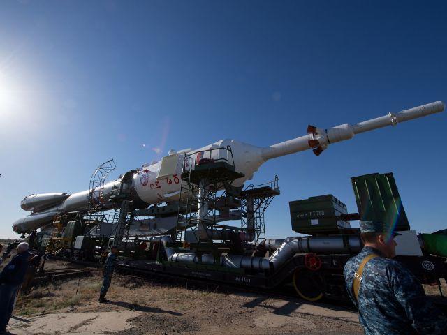 Sojus-Rakete, Foto: ESA–S. Corvaja