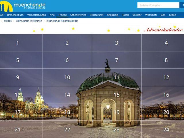 muenchen.de Adventskalender, Foto: muenchen.de