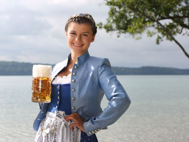 Bayerische Bierkönigin 2017 - 2018 - Lena Hochstraßer , Foto: Bayerischer Brauerbund