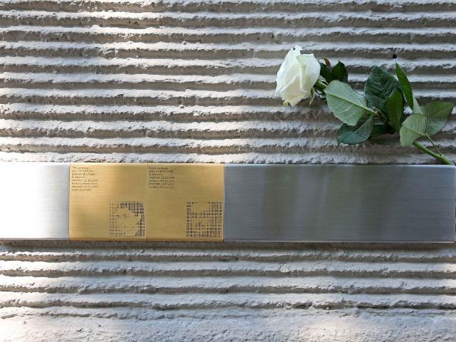 Erinnerungszeichen für die Opfer des NS-Regimes - Landauer, Foto: Michael Nagy / Presseamt München