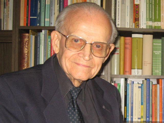 Religionsphilosoph Eugen Biser, Foto: Michael Leh/Eugen-Biser-Stiftung