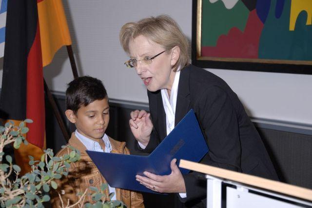 Maria Els in ihrem Amt als Regierungsvizepräsidentin, Foto: Regierung von Oberbayern