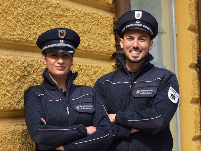 Der neue Kommunale Außendienst KAD, Foto: Landeshauptstadt München KVR