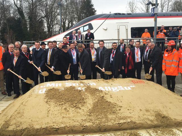 Ausbau Der Bahnstrecke München Lindau Beginnt Das