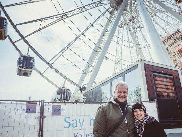 Eröffnung des Riesenrads in München., Foto: Anette Göttlicher