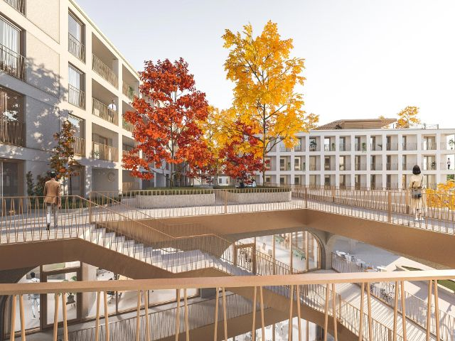 Visualisierung des Perlach Plaza in Neuperlach, Foto: CONCRETE Capital