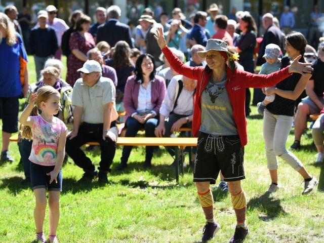 Bürgerfest zur Eröffnung des Hermann-von-Siemens-Sportparks, Foto: Referat für Bildung und Sport/Andreas Gebert