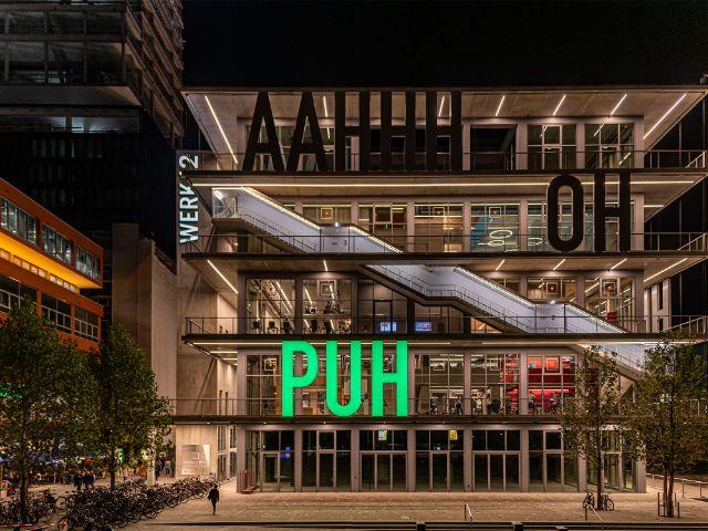 Werk12 im Werksviertel: Fassade, Foto: muenchen.de/Michael Hofmann