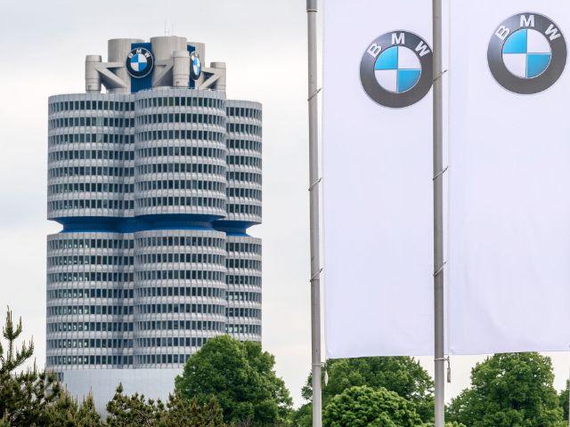 Das BMW-Hochhaus in München, Foto: Sina Schuldt / dpa / Archiv