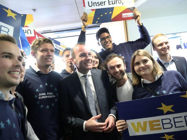Manfred Weber von der CSU, Foto: dpa/Michael Kappeler