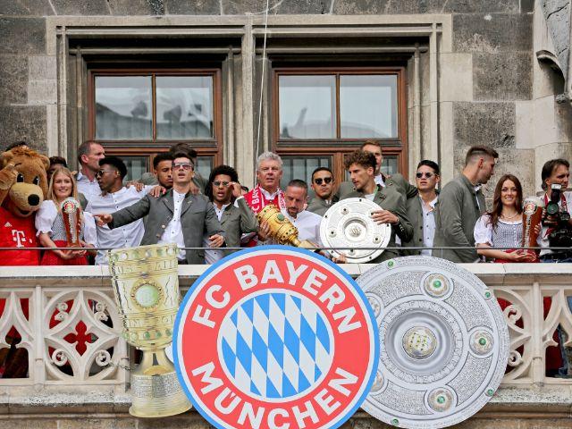 Meisterfeier des FC Bayern auf dem Marienplatz., Foto: Michael Nagy / Presseamt München