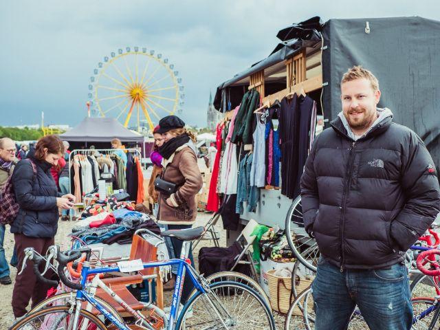 Eindruck vom Riesenflohmarkt auf der Theresienwiese: Jonas, Foto: muenchen.de / Anette Göttlicher
