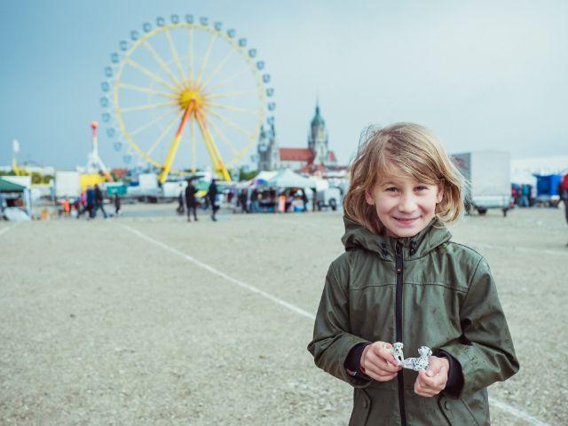 Eindruck vom Riesenflohmarkt auf der Theresienwiese: Linda, Foto: muenchen.de / Anette Göttlicher