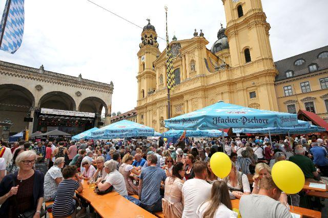 Eindrücke vom Münchner Stadtgründungsfest 2019., Foto: Michael Nagy / Presseamt München