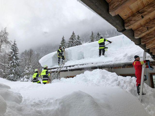 Münchner Einsatzkräfte helfen in Berchtesgaden, Foto: Berufsfeuerwehr München