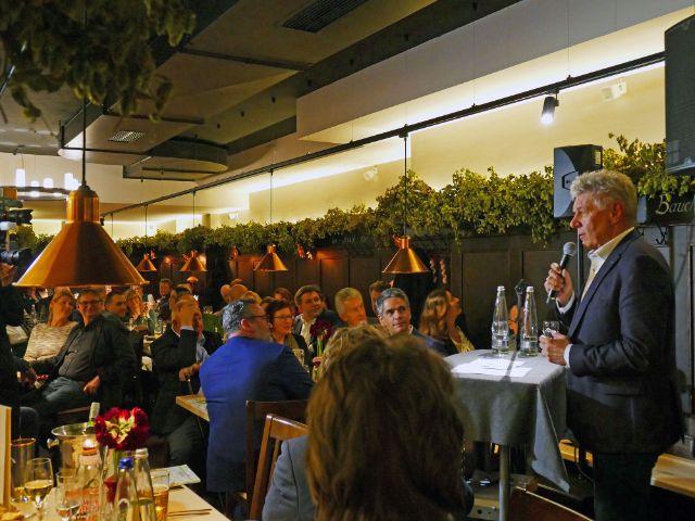 OB Dieter Reiter beim Jahresessen der Innenstadtwirte, Foto: muenchen.de / Leonie Liebich