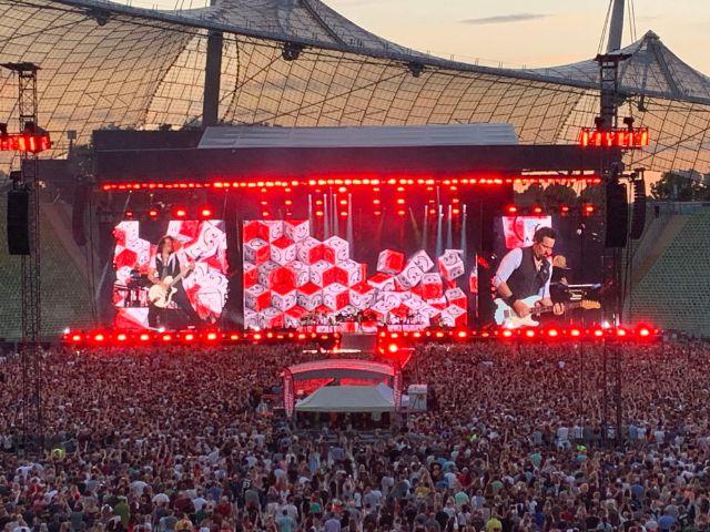 Bon Jovi live im Olympiastadion, Foto: muenchen.de / Philipp Hartmann