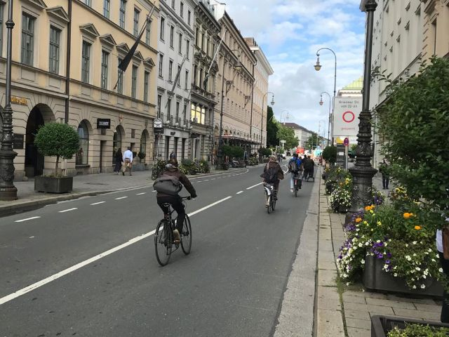 Brienner Straße, Foto: muenchen.de/Michael Hofmann