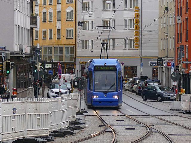 Bauarbeiten bei der Tram am Sendlinger Tor beendet, Foto: muenchen.de / Benedikt Feiten