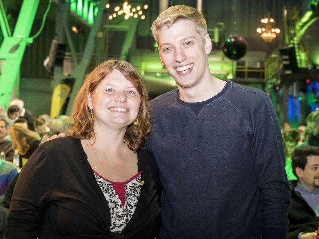 Gudrun Lux und Dominik Krause, Foto: Andreas Gregor