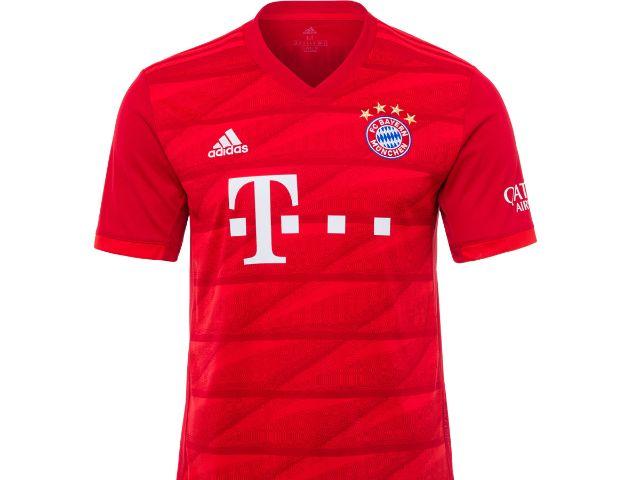 Das neue Heimtrikot des FC Bayern für die Saison 2019/20, Foto: FC Bayern München
