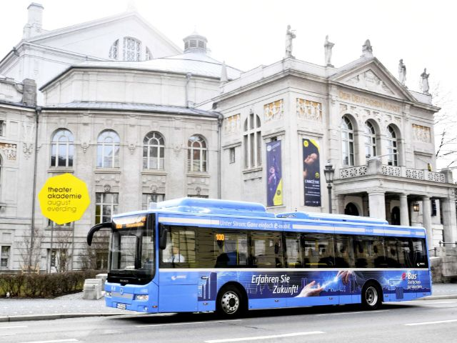 E-Bus der Linie 100, Foto: SWM/MVG