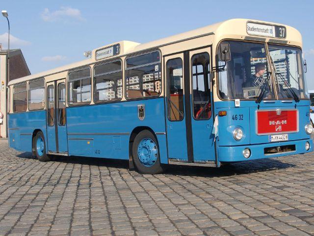 Oldtimer-Bus der MVG, Foto: OCM
