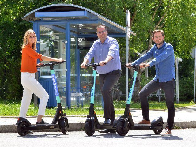 E-Scooter-Sharing der MVG, Foto: SWM/MVG