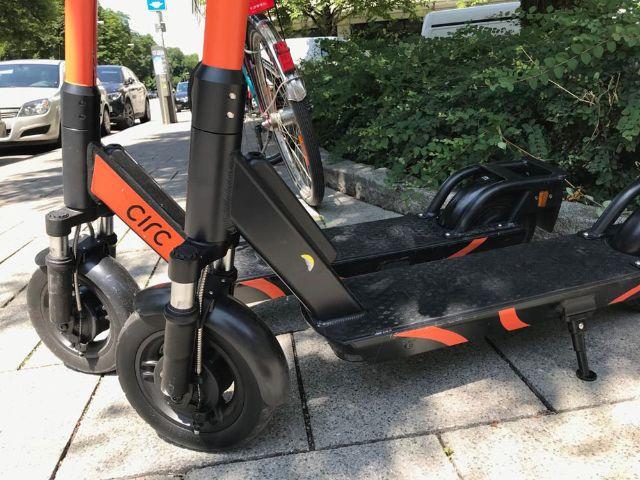 E-Scooter von circ in München, Foto: muenchen.de