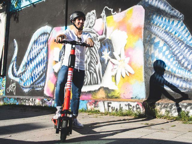 E-Scooter von Jump, Foto: JUMP