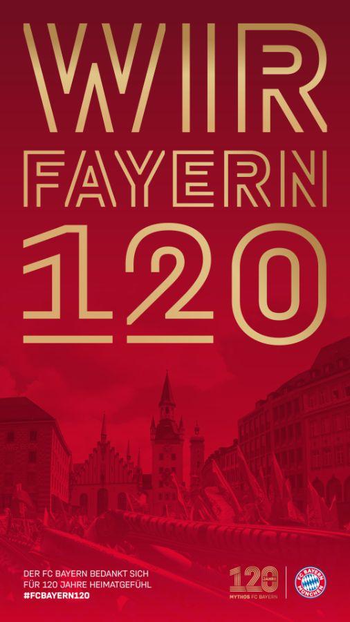 120 Jahre FC Bayern, Foto: FC Bayern München AG