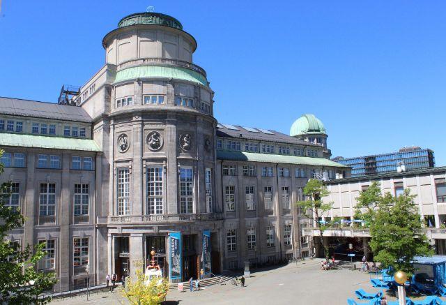 Innenhof des Deutschen Museums, Foto: Deutsches Museum