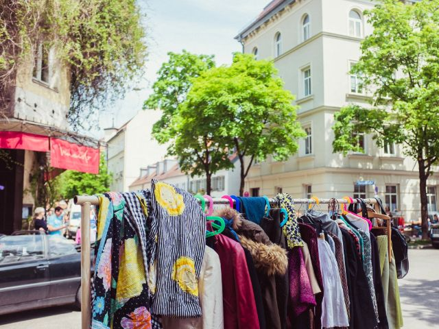Hofflohmarkt, Foto: Anette Göttlicher