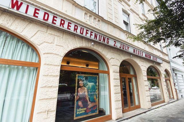 Das Neue Maxim Kino in Neuhausen öffnet am 2.7.2020 wieder, Foto: Anette Göttlicher