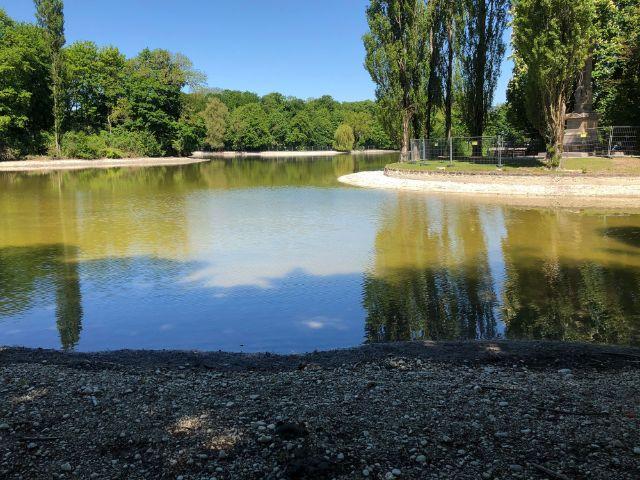 Wasser im Kleinhesseloher See ist zurück, Foto: Bayerische Schlösserverwaltung