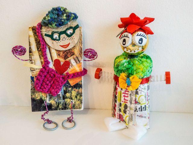 Figuren zum Corona-Projekt der Johanniter, Foto: Nina Hafner