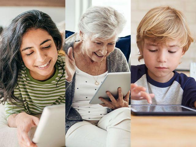 Spendenaufruf für Tablets, Foto: M-net