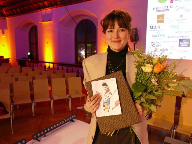 Gewinnerin des Münchner Modepreises 2020: Josephine Klock , Foto: muenchen.de/Leonie Liebich