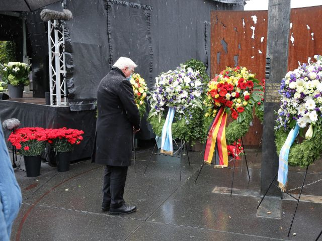 Bundespräsident Frank-Walter Steinmeier bei der Gedenkveranstaltung zum Oktoberfest-Attentat, Foto: Landeshauptstadt München / Kulturreferat