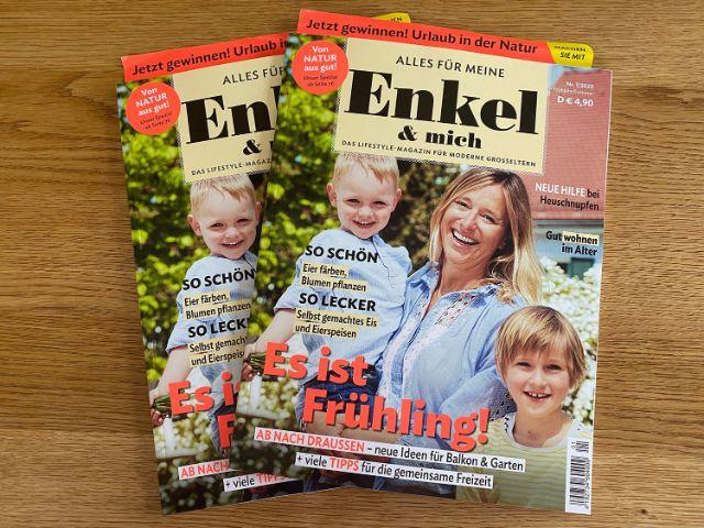 """Magazin """"Alles für meine Enkel & mich"""", Foto: Magazine Solutions"""
