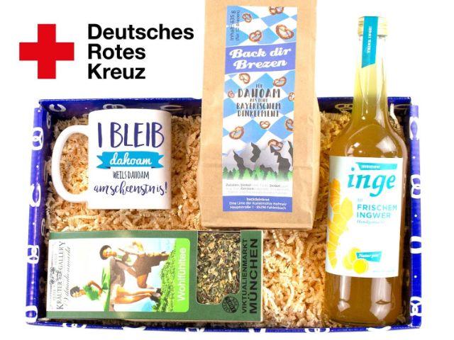 """Geschenkbox """"I bleib dahoam"""" vom Bavariashop, Foto: Bavariashop GmbH"""